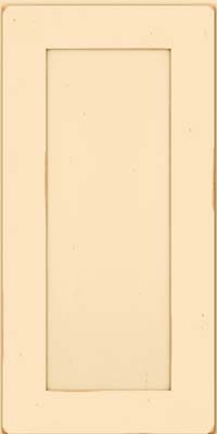 Square Recessed Panel - Solid (DRHC) Cherry in Vintage Biscotti - Wall