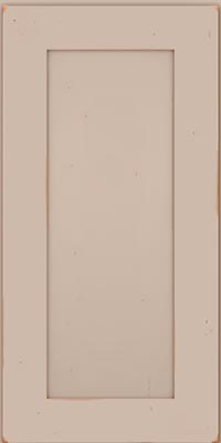 Square Recessed Panel - Solid (DRHC1) Cherry in Vintage Chai - Wall