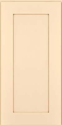 Square Recessed Panel - Solid (DRHM) Maple in Biscotti w/Cocoa Glaze - Wall