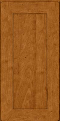 Square Recessed Panel - Solid (DRHM) Maple in Burnished Golden Lager - Wall