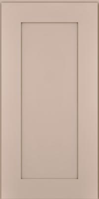 Square Recessed Panel - Solid (DRHM1) Maple in Chai - Wall