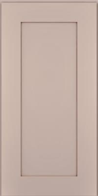 Square Recessed Panel - Solid (DRHM1) Maple in Chai w/Cocoa Glaze - Wall