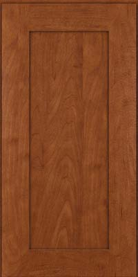 Square Recessed Panel - Solid (DRHM) Maple in Chestnut - Wall