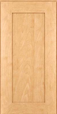 Square Recessed Panel - Solid (DRHM) Maple in Honey Spice - Wall