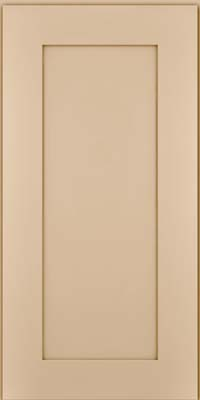 Square Recessed Panel - Solid (DRHM) Maple in Mushroom - Wall