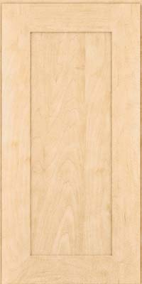 Square Recessed Panel - Solid (DRHM) Maple in Natural - Wall