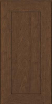 Square Recessed Panel - Solid (DRHM) Maple in Saddle Suede - Wall