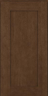 Square Recessed Panel - Solid (AB2O1) Oak in Hazel - Wall