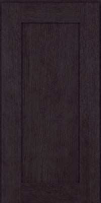 Square Recessed Panel - Solid (AB2O) Oak in Slate - Wall