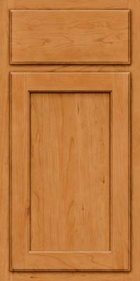 Square Recessed Panel - Veneer (GCS) Cherry in Natural - Base
