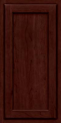 Square Recessed Panel - Veneer (GCS) Cherry in Cabernet - Wall