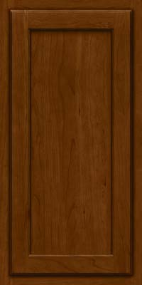 Square Recessed Panel - Veneer (GCS) Cherry in Chocolate - Wall
