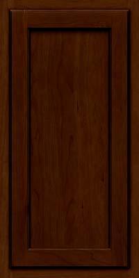 Square Recessed Panel - Veneer (GCS) Cherry in Chocolate w/Ebony Glaze - Wall