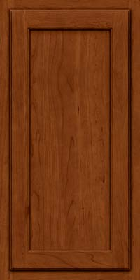 Square Recessed Panel - Veneer (GCS) Cherry in Cinnamon - Wall