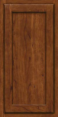 Square Recessed Panel - Veneer (GCS) Cherry in Cognac - Wall