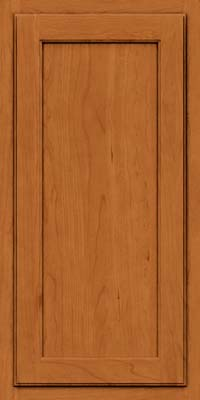 Square Recessed Panel - Veneer (GCS) Cherry in Honey Spice - Wall