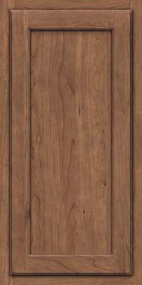Square Recessed Panel - Veneer (GCS) Cherry in Husk - Wall