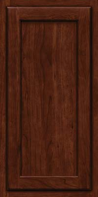 Square Recessed Panel - Veneer (GCS) Cherry in Kaffe - Wall