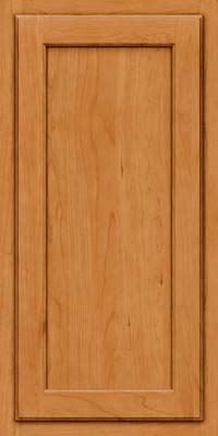 Square Recessed Panel - Veneer (GCS) Cherry in Natural - Wall