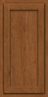 Square Recessed Panel - Veneer (GCS) Cherry in Rye - Wall