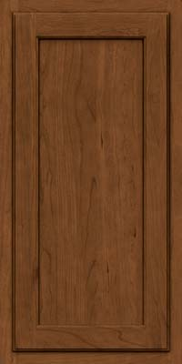 Square Recessed Panel - Veneer (GCS) Cherry in Rye w/Sable Glaze - Wall