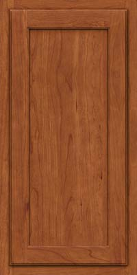 Square Recessed Panel - Veneer (GCS) Cherry in Sunset - Wall