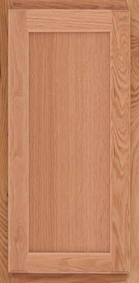 Square Recessed Panel - Veneer (AC2O) Oak in Natural - Wall