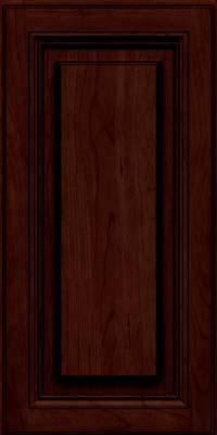 Halstead (HLC1) Cherry in Cabernet w/Onyx Glaze - Wall