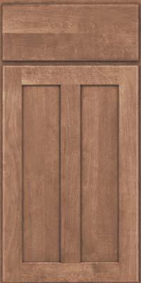 Square Recessed Panel - Veneer (HW) Birch in Husk - Base