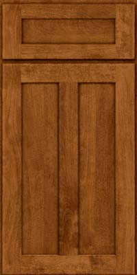 Square Recessed Panel - Veneer (HW) Birch in Praline - Base