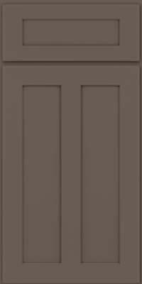Square Recessed Panel - Veneer (WI) Maple in Greyloft - Base