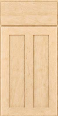 Square Recessed Panel - Veneer (WI) Maple in Natural - Base
