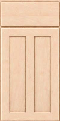 Square Recessed Panel - Veneer (WI) Maple in Parchment - Base