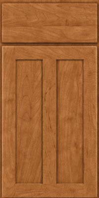 Square Recessed Panel - Veneer (WI) Maple in Praline - Base