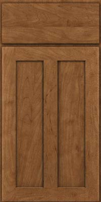 Square Recessed Panel - Veneer (WI) Maple in Rye - Base