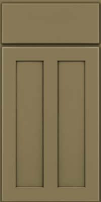 Square Recessed Panel - Veneer (WI) Maple in Sage - Base