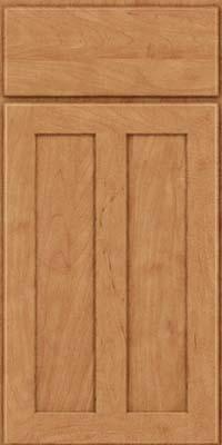 Square Recessed Panel - Veneer (WI) Maple in Toffee - Base