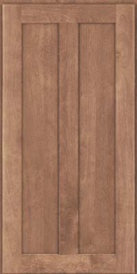 Square Recessed Panel - Veneer (HW) Birch in Husk - Wall