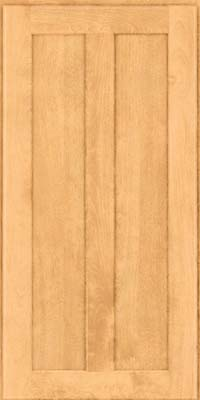Square Recessed Panel - Veneer (HW) Birch in Natural - Wall