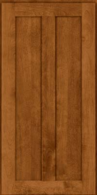 Square Recessed Panel - Veneer (HW) Birch in Praline - Wall