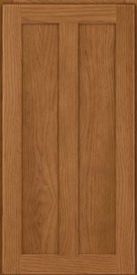 Square Recessed Panel - Veneer (AC5H) Hickory in Rye - Wall