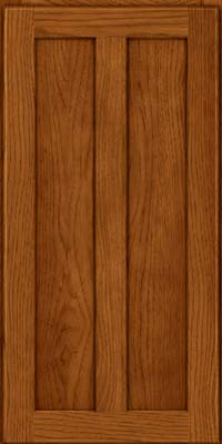 Square Recessed Panel - Veneer (AC5H) Hickory in Sunset - Wall