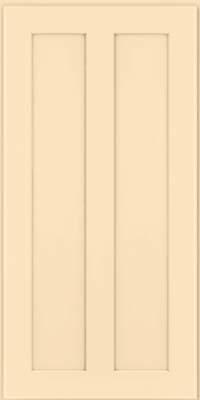 Square Recessed Panel - Veneer (WI) Maple in Biscotti w/Coconut Glaze - Wall