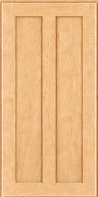 Square Recessed Panel - Veneer (WI) Maple in Honey Spice - Wall