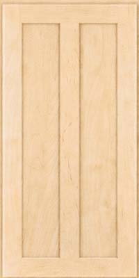 Square Recessed Panel - Veneer (WI) Maple in Natural - Wall