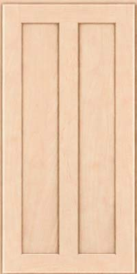 Square Recessed Panel - Veneer (WI) Maple in Parchment - Wall
