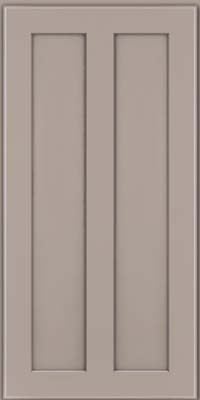 Square Recessed Panel - Veneer (WI) Maple in Pebble Grey - Wall