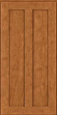 Square Recessed Panel - Veneer (WI) Maple in Praline - Wall