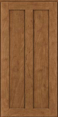 Square Recessed Panel - Veneer (WI) Maple in Rye - Wall