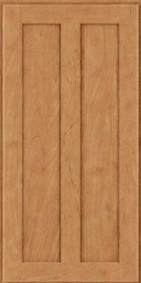 Square Recessed Panel - Veneer (WI) Maple in Toffee - Wall